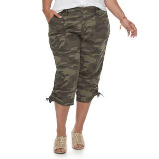 Plus Size SONOMA Goods for Life? Utility Capri Pants