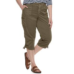Plus Size SONOMA Goods for Life™ Utility Capri Pants
