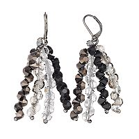 Simply Vera Vera Wang Beaded Tassel Nickel Free Drop Earrings