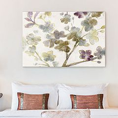 Artissimo Designs Branch Blooms Canvas Wall Art