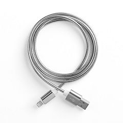 Metallic 42-in. Lightning to USB Cable