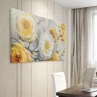 Artissimo Designs Sunshine Canvas Wall Art