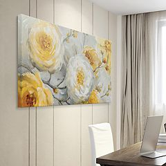 Artissimo Designs Sunshine Canvas Wall Art