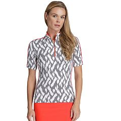 Women's Tail Robin Print Short Sleeve Top