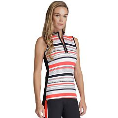 Women's Tail Regina Striped Golf Tank