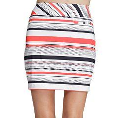 Women's Tail Mila Striped Golf Skort
