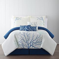 Panama Jack Coral Blue 7-piece Comforter Set