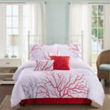 Panama Jack Coral 7-piece Comforter Set