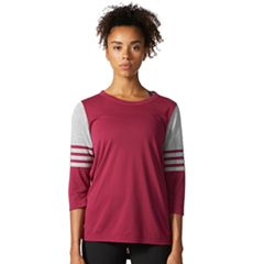 Women's adidas 3 Stripe Jersey Tee
