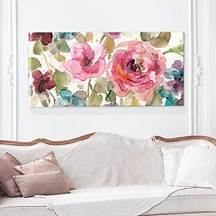 Artissimo Designs Garden Palette I Canvas Wall Art