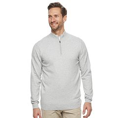 Men's Croft & Barrow® Thermolite Quarter-Zip Sweater
