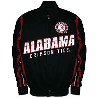 Men's Franchise Club Alabama Crimson Tide Select Twill Jacket