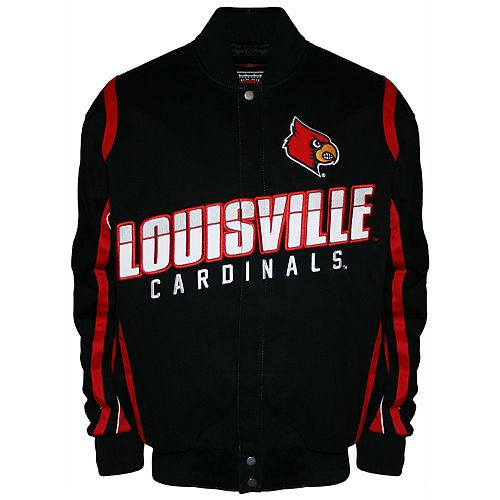 Men's Franchise Club Louisville Cardinals Select Twill Jacket