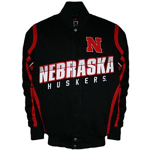 Men's Franchise Club Nebraska Cornhuskers Select Twill Jacket