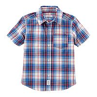 Toddler Boy Carter's Plaid Shirt