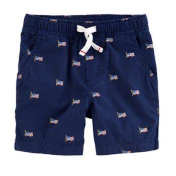 Toddler Boys Carter's Flag Shorts