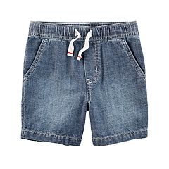Toddler Boy Carter's Pull-On Chambray Shorts