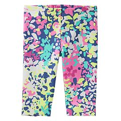 Toddler Girl OshKosh B'gosh® Watercolor Floral Leggings