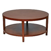 Ave Six Merge Round End Table