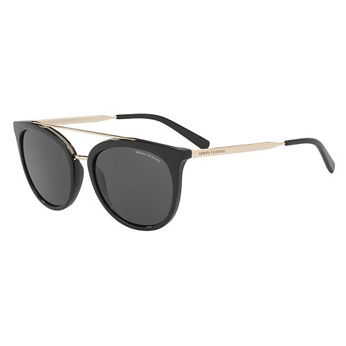Armani Exchange Forever Young Cosmopolitan AX4068S 55mm Round Sunglasses