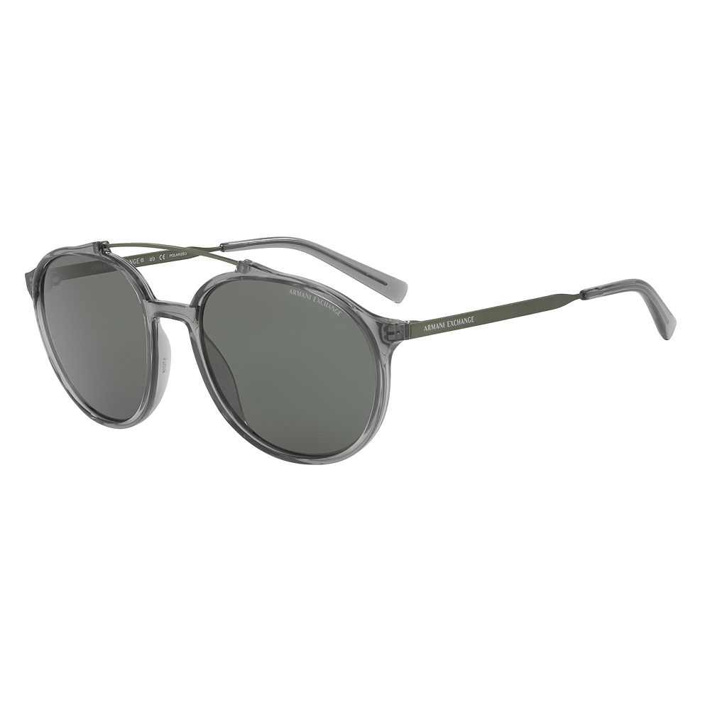 Armani Exchange Forever Young Cosmopolitan AX4069S 57mm Round Polarized Sunglasses