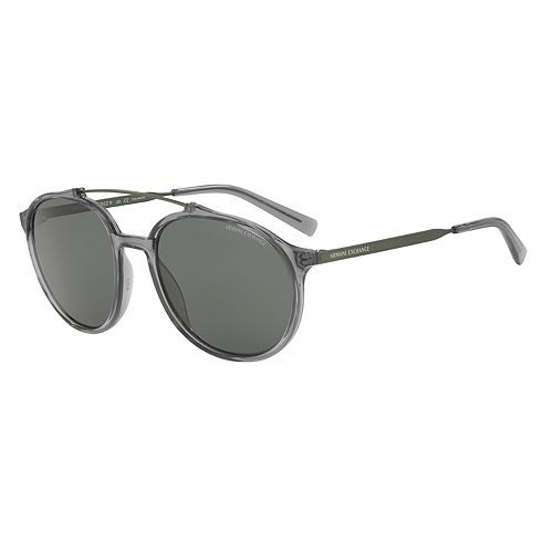 056b5ea362 Armani Exchange Forever Young Cosmopolitan AX4069S 57mm Round Polarized  Sunglasses