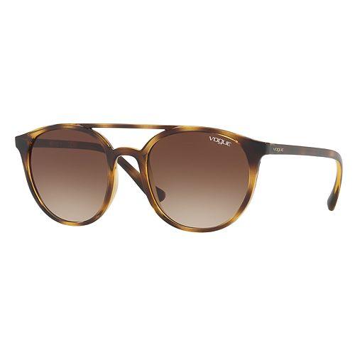Vogue Light & Shine VO5195S 52mm Round Gradient Sunglasses