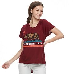 Juniors' 'California Love' Graphic Tee