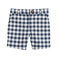 Baby Boy Carter's Gingham Shorts