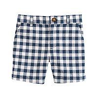 Baby Boy Carter's Gingham Shorts