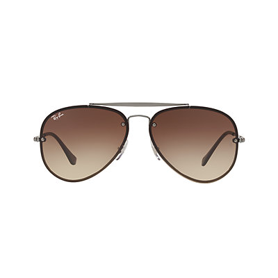 Ray-Ban Blaze RB3584N 61mm Aviator Gradient Sunglasses
