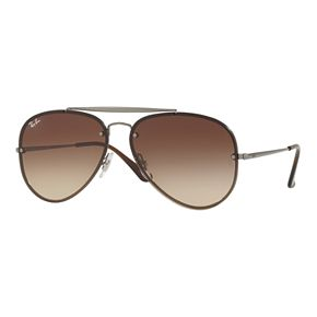 Ray-Ban Blaze RB3584N 61mm Aviator Gradient Sunglasses