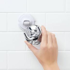 OXO Good Grips Chrome Suction Bath Hook