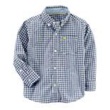 Baby Boy Carter's Gingham Button-Down Shirt