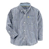 Baby Boy Carter's Gingham Button-Down Shirt