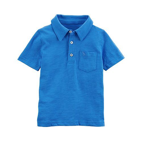 Baby Boy Carter's Blue Polo