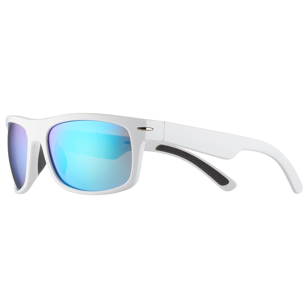8f0ac425ad5 Men s Apt. 9® White Polarized Wrap Sunglasses