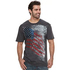 Big & Tall Apt. 9® To The Bone American Flag Graphic Tee