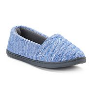 Women's Totes Andrea Space-Knit A-Line Slippers