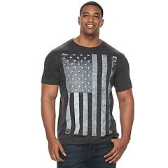 Big & Tall Apt. 9® Riveted American Flag Graphic Tee