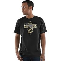 Men's Majestic Cleveland Cavaliers Layup Lead Tee