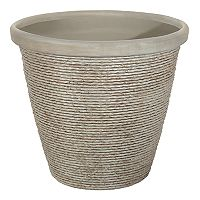 Suncast Faux Stucco Planter