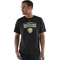 Men's Majestic Golden State Warriors Layup Lead Tee