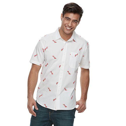 Men's Budweiser Bow Tie Button-Down Shirt
