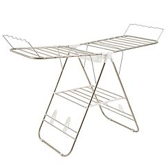 Portsmouth Home Deluxe Folding Gullwing Clothes Drying Rack