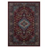 Maples Ora Framed Floral Rug