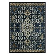 Maples Alva Framed Floral Rug