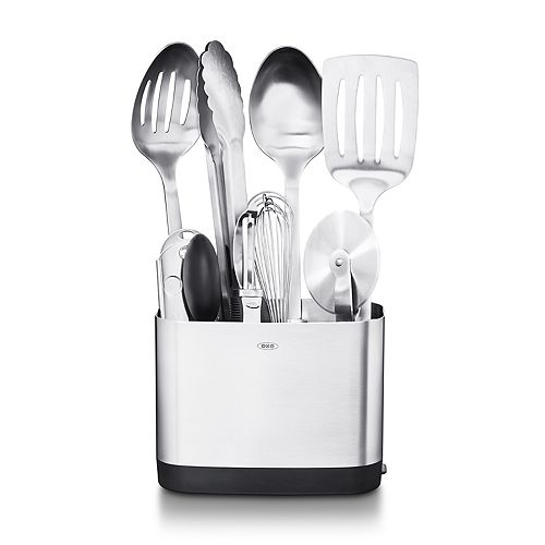Oxo Steel 9 Piece Kitchen Essentials Set