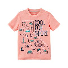 Toddler Boy Carter's 'Cool For Shore' California Graphic Tee