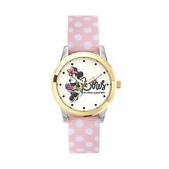 Disney's Minnie Mouse 'Bows are Always a Good Idea' Women's Reversible Strap Watch